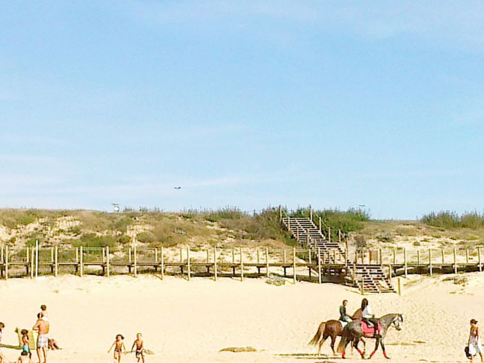 MagicMoments Beach Horses Somewhereonlyweknows Visitportugal Kids EyeEm Porto Afternoon Love