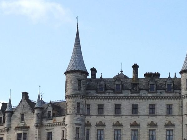 Château Dunrobin Castle City Politics And Government Cityscape Façade Business Finance And Industry Sky Architecture Building Exterior Spire  Castle Historic History Gothic Style