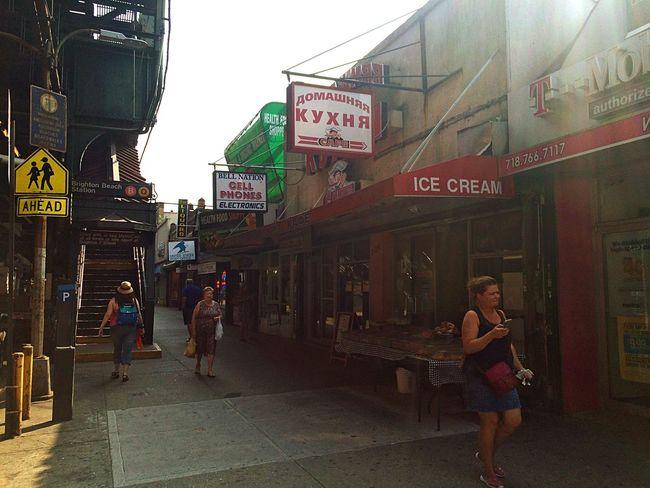 Brighton Coney Island Russian America Imigrantes Up Close Street Photography