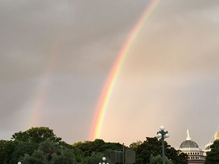 Rainbow Double Doublerainbow Double Rainbow Doublerainbows Nature Beauty In Nature Beautiful Beautiful Nature