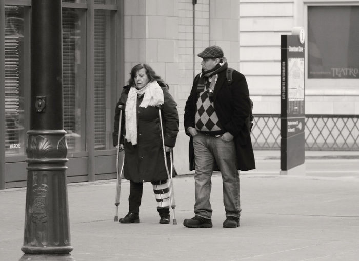 A Couple On The Street