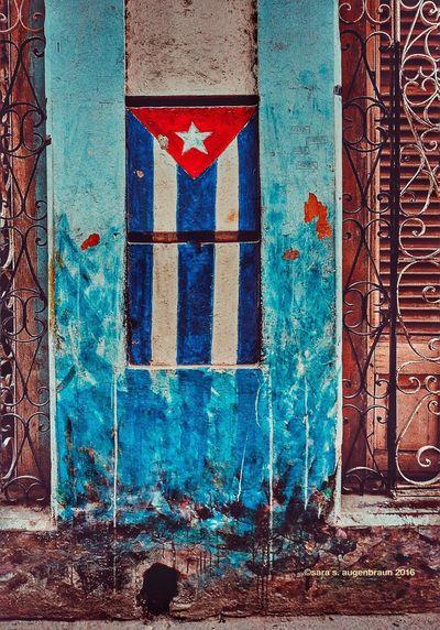 More Fabric of Cuba Cuba 2016 Cuban Life Cuba Havana Cuba Collection Cuban Style Olympus OM-D EM-1 Building Exterior Wall Wall Art Flag Cuban Flag Streetart Streetphotography