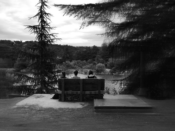A Walk By The Lake... What I Value Frindship Dreamers EyeEm Best Shots - Black + White Monochrome Landscape_Collection Ladyphotograferofthemonth Eye4photograghy EyeEm Nature Lovers Enjoying The View