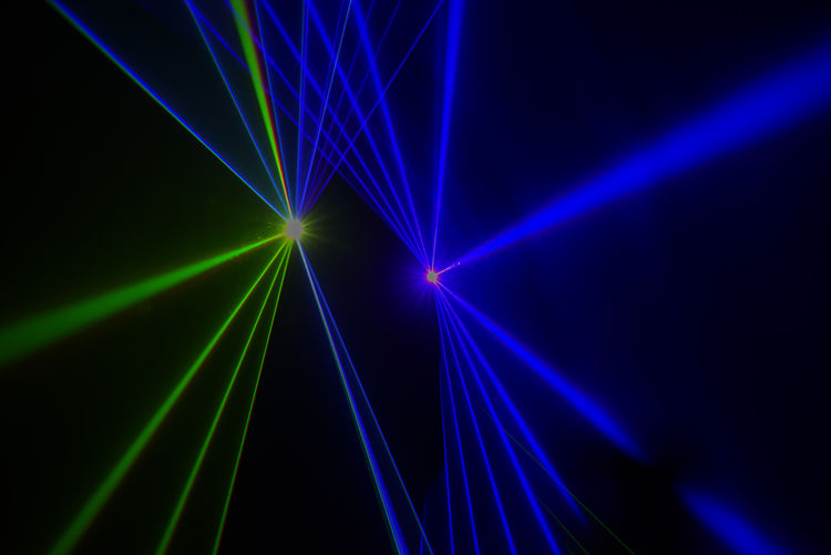 Colorful Laser effect over a plain black background Light Abstract Illuminated Laser Night Light Beam Lighting Equipment Nightclub Discover Your City Stage Textured  Backgrounds