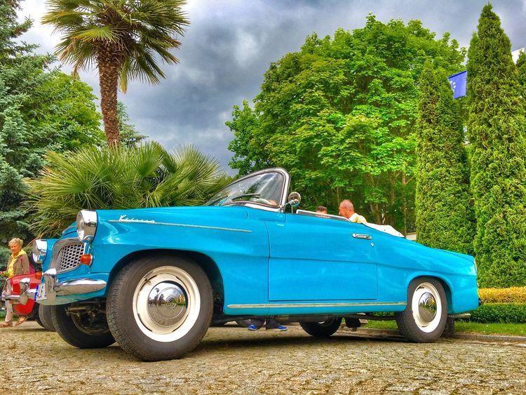 Mein Automoment Skoda Felicia 1962r Cabrio Oldtimer