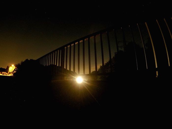 in einer Nacht an der Brücke in Eilendorf stand ich einsam mit meiner Gopro Nightphotography Architecture Bridge Long Exposure EyeEmNewHere