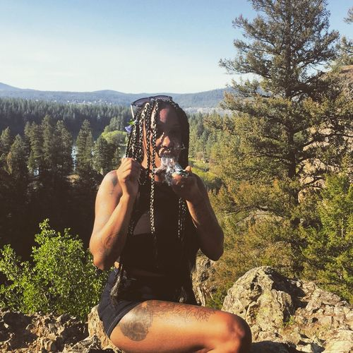 Smoke Weed Washington Washington State State Park  Happy 420 Cannabis Stonergirl