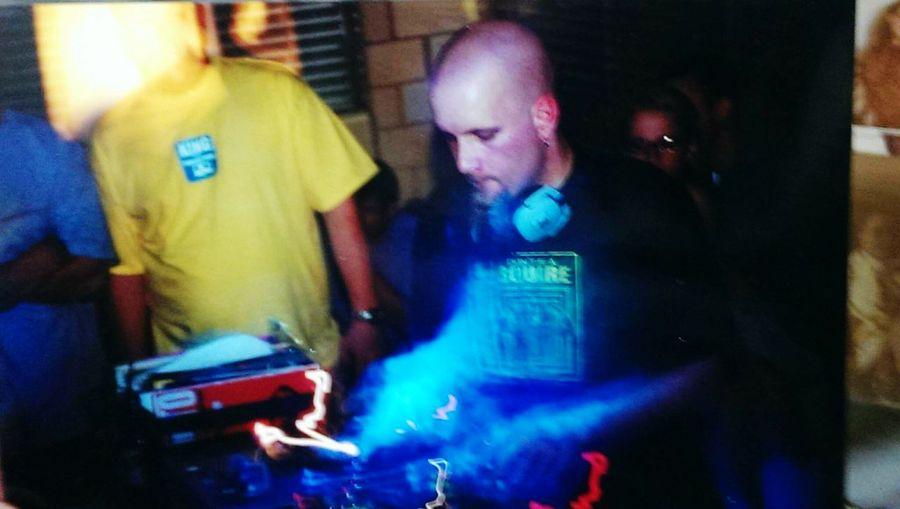 Mr. Dibbs in Charlotte, N.C. at Tonic 2001 Turntablism Turntable Dj's Mr.Dibbs Charlotte
