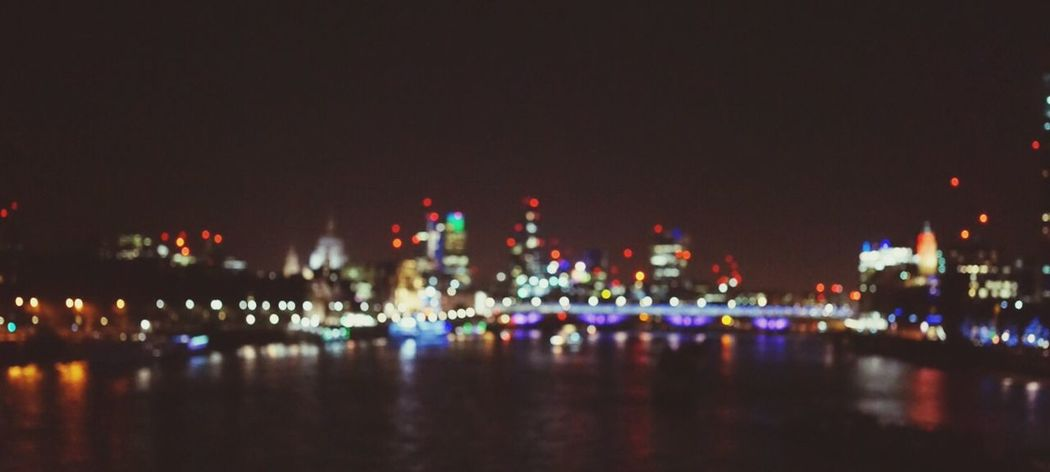 Waterloobridge London Out Of Focus Urbancity