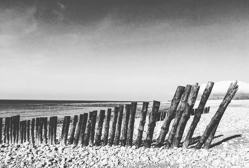 Groyne Beach Groyne Sky Sea Water Horizon Over Water Day Nature Clear Sky Horizon No People Beach Tranquil Scene Outdoors Beauty In Nature Built Structure