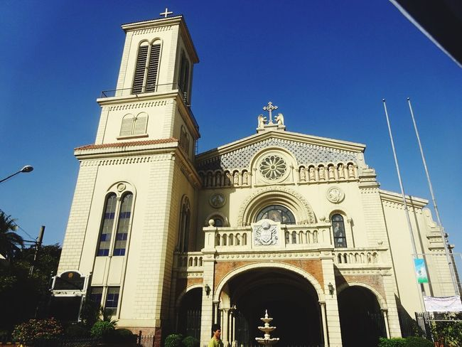 Immaculate Concepcion Church in Cubao Travel Church Philippines OpenEdit Followme Taking Photos Photography Daleyphotograph