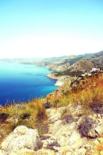 Cerro Gordo Sea And Sky Frigiliana Nature Photography Landscape EyeEm Nature Lover Rx100