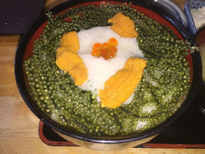 沖縄県 恩納村 にある 元祖 海ぶどう丼 です。 ぷちぷち たまりません。 Okinawa Umibudou First Eyeem Photo