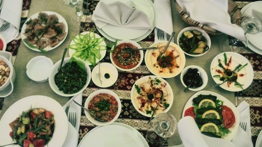 Lebanese Food Lebanese Kitchen Al Mayass Restaurant Yerevan Armenia
