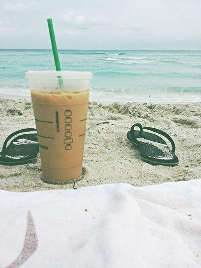 Beach Day Starbucks