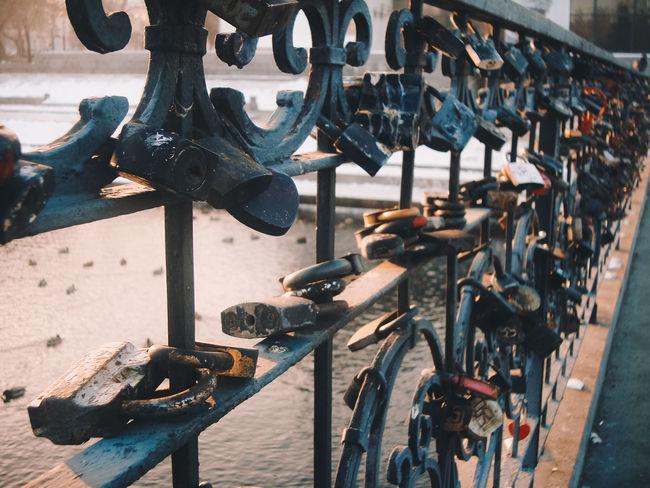 Mettalic Metal Iron Key Security Lock Water