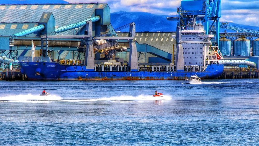 on the way Photography Waterway Summer Transportation Shipping  Jetskiing