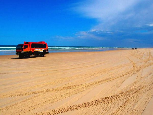 The Red truck Red Truck Hello World Eyeem Beach Shots Eyeem Beautiful Nature Amazing Nature Sand Island Queensland Australia Travel Photography The Week Of Eyeem Beachphotography The Essence Of Summer- 2016 EyeEm Awards The Essence Of Summer Mycapture Thebeautyofnature Sea And Sky Beach View Fresh On Eyeem  Fraser Island Australia Need For Speed Tire Marks Beach Photography Mein Automoment Feel The Journey Original Experiences