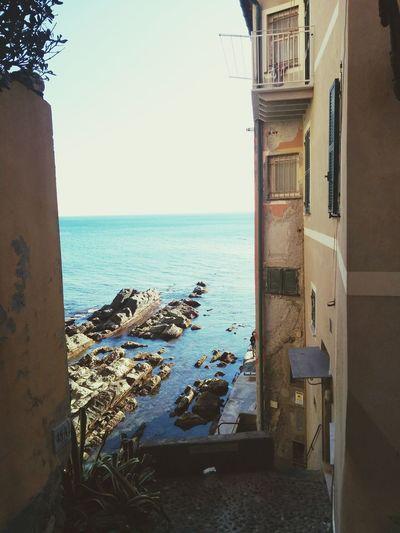 Walking Around Genova Seaside Relaxing Beautiful