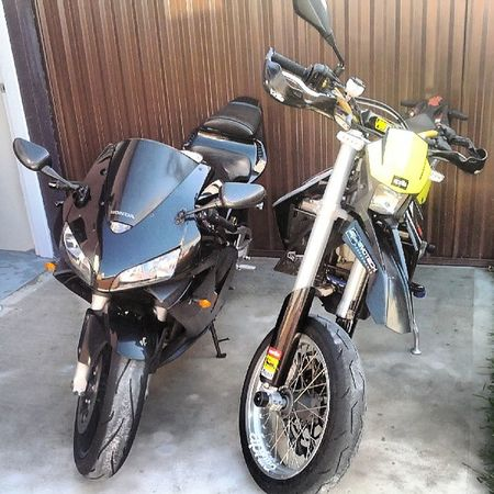 Honda Cbr Aprilia Sxv