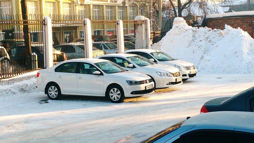 White Mafia :)Car Cars White Jetta Camry Almera белая мафиа стоянка