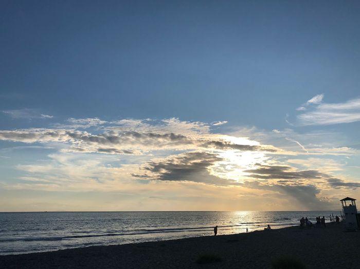 Tuscany Summer Sunset Water Sea Sky Beauty In Nature Scenics - Nature Beach Land Horizon Horizon Over Water Cloud - Sky Sunset