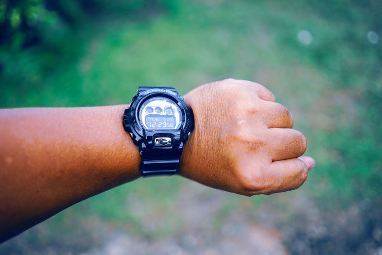 Its about time Adult Body Part Checking The Time Close-up Day Finger Focus On Foreground Hand Human Body Part Human Hand Human Limb Leisure Activity Lifestyles Men Nature One Person Outdoors Personal Accessory Personal Perspective Real People Time Watch Wrist Wristwatch EyeEmNewHere