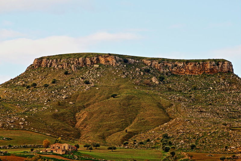 Colline Erosione Exploring Formazioni Rocciose Geology Landscape Mountain Natura Paesaggio Rock Sicilia Tranquil Scene