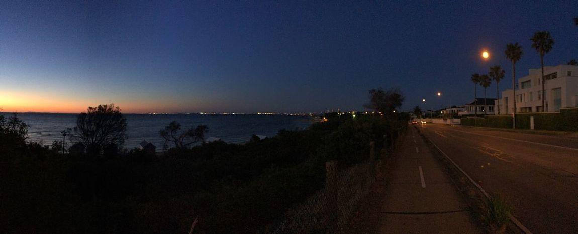 The Esplanade Brighton Beach Panoramic Dusk