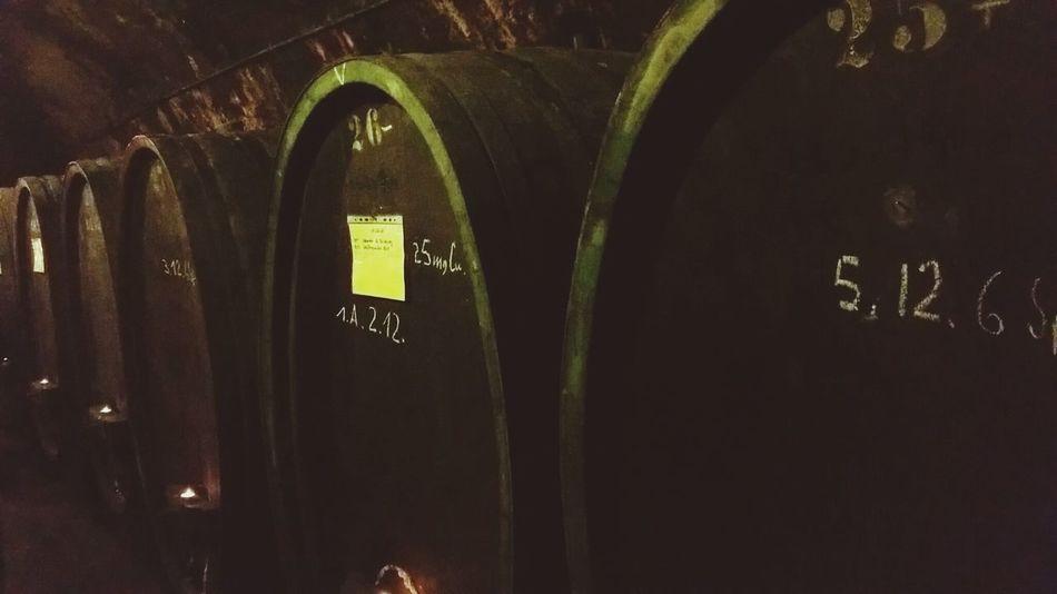 """""""Binger Keller"""" 3/3   Winery Wine Cave Drinking Wine Casks"""