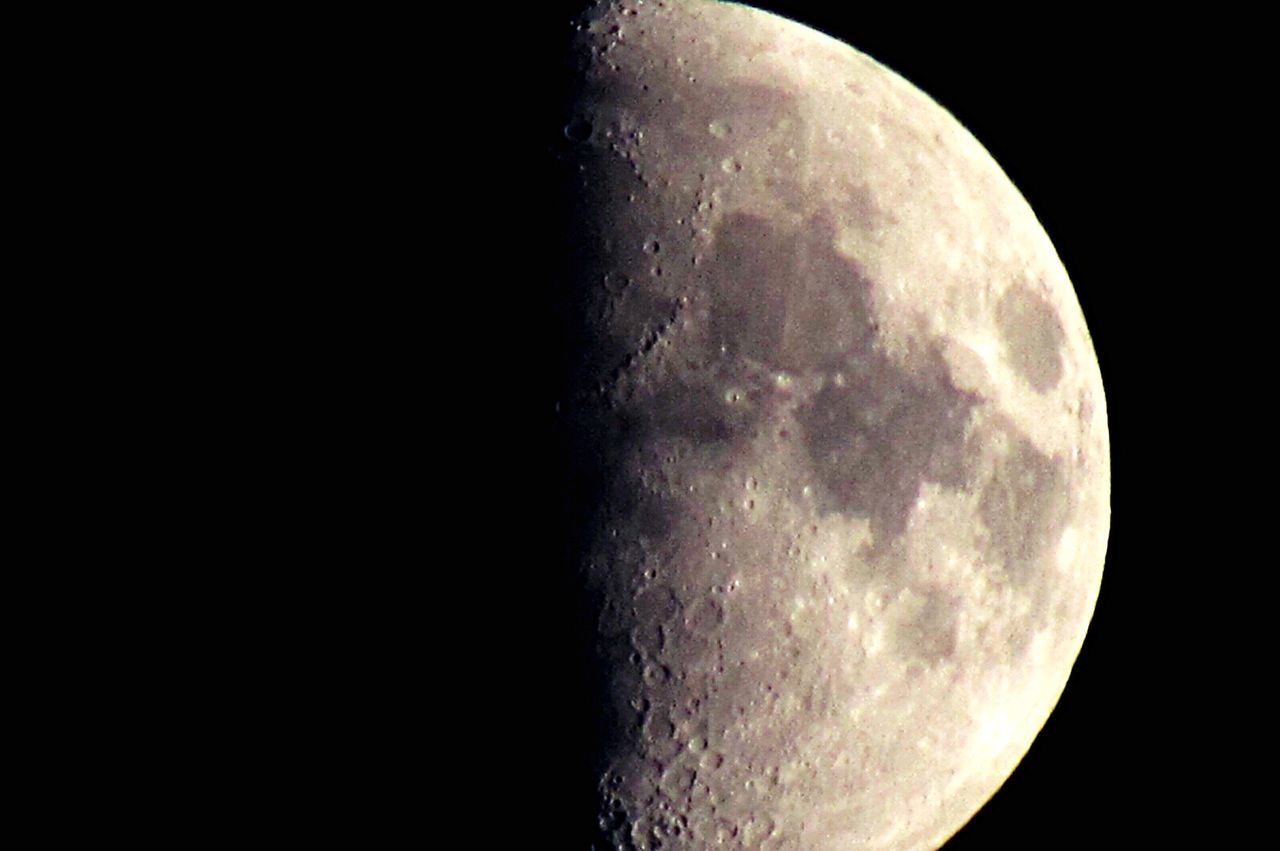 moon, night, astronomy, moon surface, space, space exploration, planetary moon, half moon, no people, scenics, semi-circle, moonlight, beauty in nature, illuminated, close-up, sky, crescent, outdoors, nature