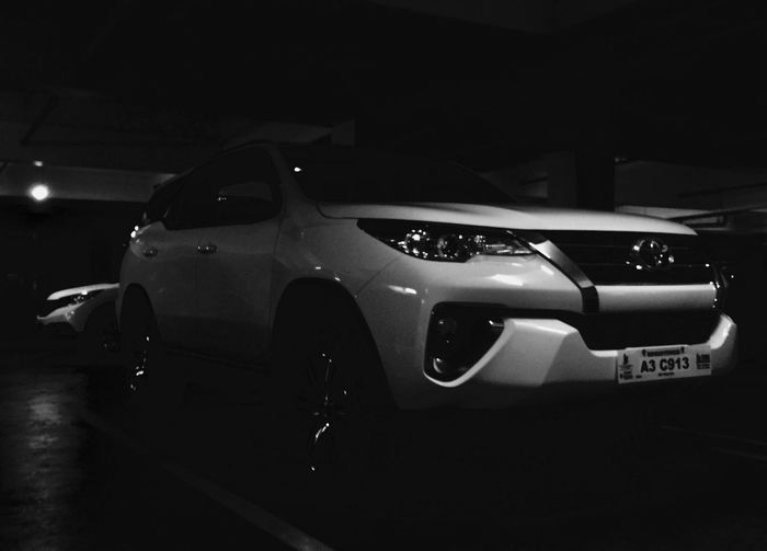 side chick. Crv Sound Cruiser Fortuner 2018 Car Land Vehicle Transportation Night Luxury No People Indoors