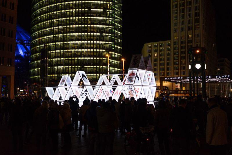 Nightphotography Festival Of Lights 2015 The City At Night Night Lights Nightlights House Of Cards