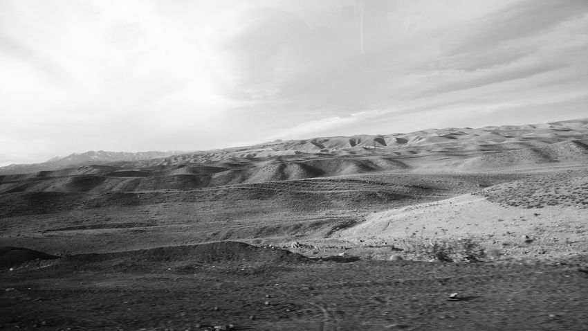 Blackandwhite Desert Deserts Around The World EyeEm Best Shots Going The Distance No People Taking Photos Traveling Well Turned Out