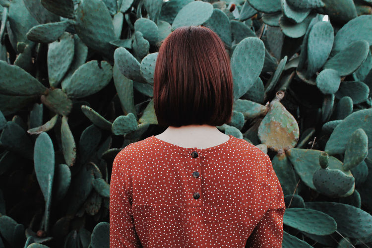 Human Back Red Rear View Waist Up Close-up Back Symmetry Human Body Shoulder Human Neck Floral Pattern Polka Dot Posing The Week On EyeEm Editor's Picks