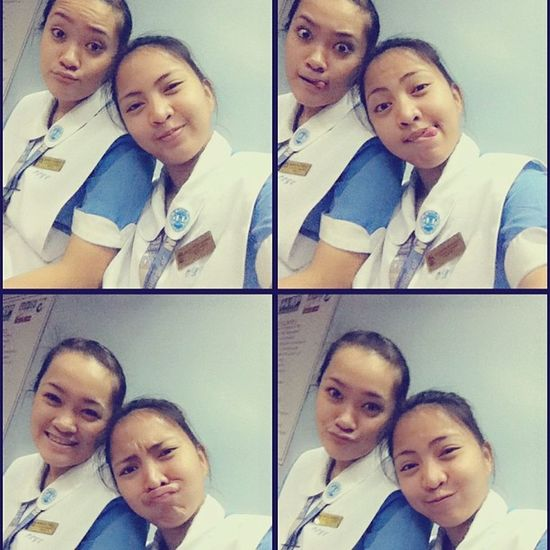 Chinita lang ang peg :)) boredome hahahah! NurseOnDuty BEB Girlfriend <3 instadaily instapicoftheday