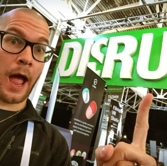 Was a crazy week at Techcrunch Techcrunch Disrupt this week. Pretty tired still. But tomorrow, it's on a aplane, Traveling to Photokina Photokina2016
