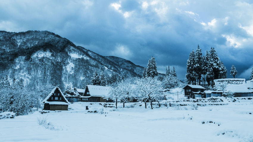 Cold Temperature Japan Japan Photography Landscape Landscape #Nature #photography Landscape_Collection Landscape_photography Mountain Nature Shyraphotography Snow Sonya77 Tranquil Scene Village Photography Winter Winter Lost In The Landscape