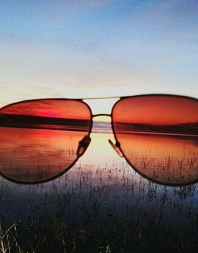Vanishing Point Aviators Oceanview Sunset Photo Mission