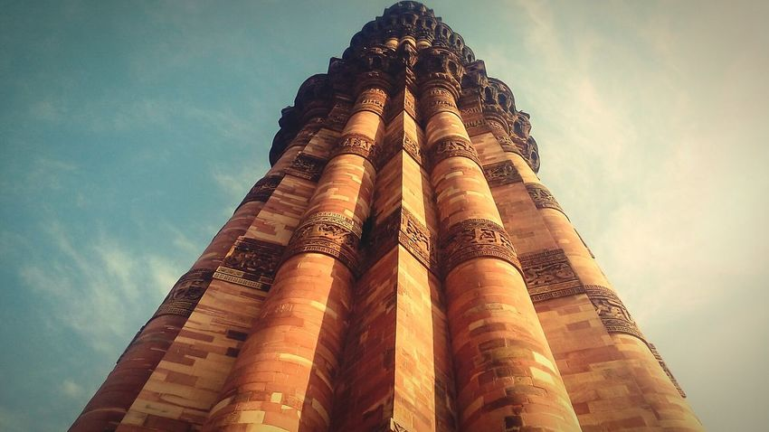 Qutab minar, Incridibleindia Incridible India Getty Images Getty X EyeEm First Eyeem Photo Amazing Love My Lover Check This Out My Favorite Photo Of The Day Taking Photos Relaxing