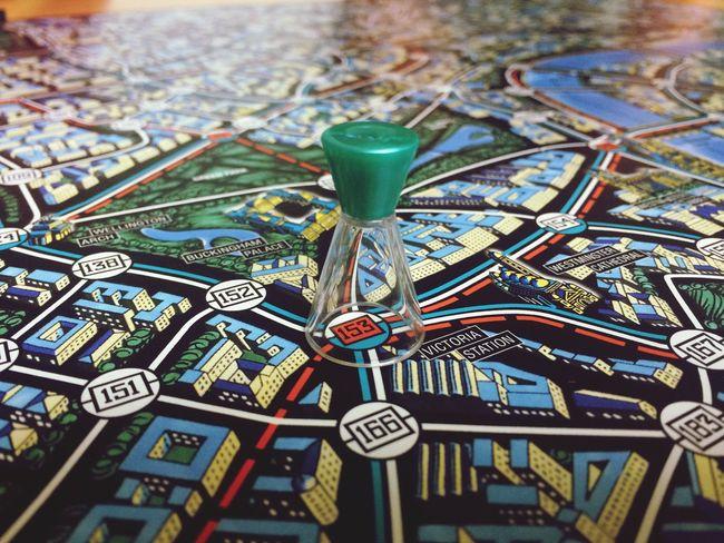 Leisure Games Gambling Chance Indoors  Scotland Yard spielen Spielfiguren Brettspiele Game
