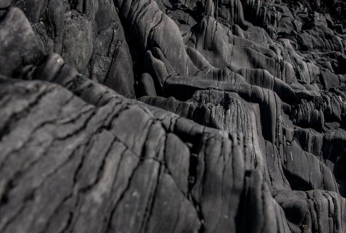Arid Climate Backgrounds Black Rock City Close-up Damaged Day Detail Djúpalónssandur Beach Exploring Full Frame Geology Geometry High Angle View Iceland_collection Natural Pattern No People Old Pattern Physical Geography Rough