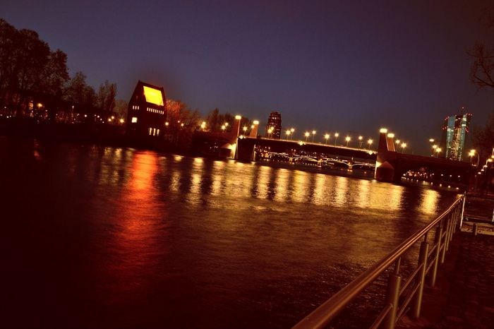 Architecture Bridge Bridges Built Structure City City Lights City Lights At Night Cityscape Dark EyeEm Gallery Lamps And Lights. Light Lighting Equipment Me My Camera And I Nature Night Night And Sea Reflection Reflections River Sky Street Light Taking Photos Taking Pictures Water
