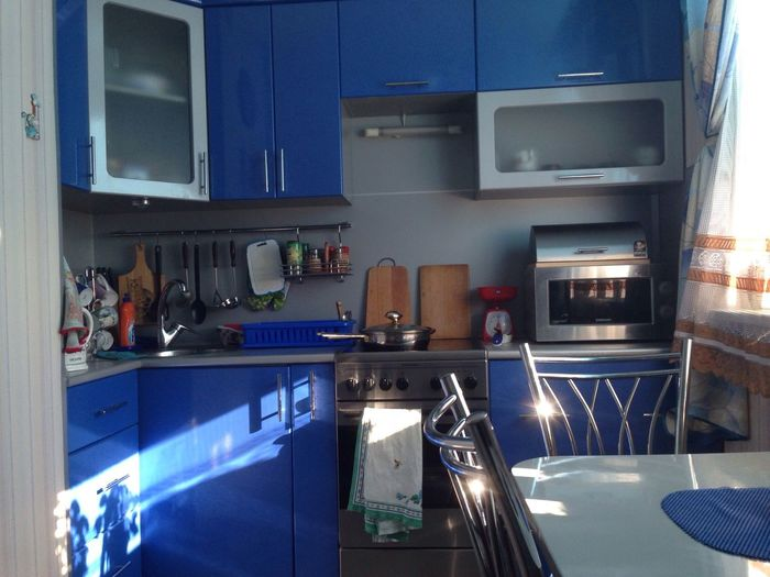 Первое фото, для пробы. Моя кухня-мое жилище. Февральские