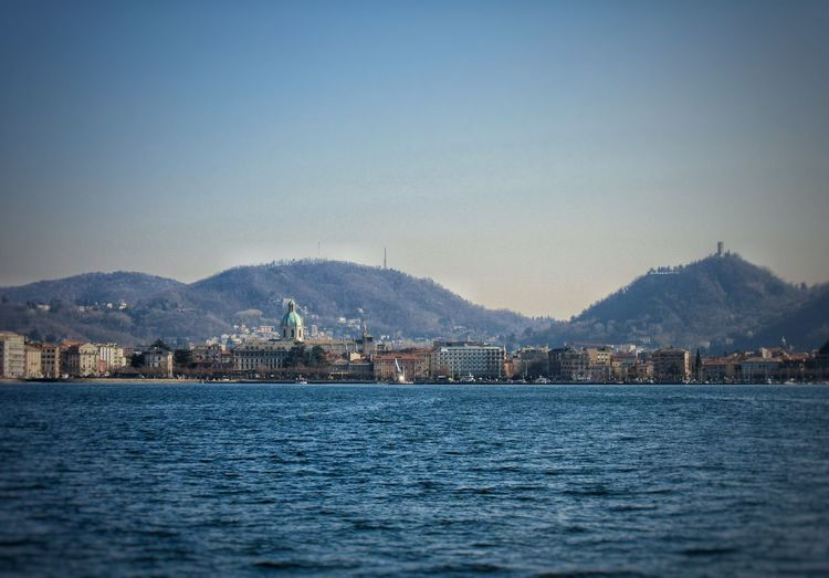 View of covilha waterfront