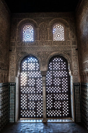 Architecture Granada, Spain Pattern, Texture, Shape And Form Tourist Attraction  Alhambra Beauty Detail Details Textures And Shapes Handcraft History Interior Details Light And Shadow No People Travel Destinations