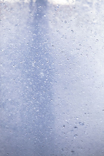 Backgrounds Close-up Day Drop Full Frame Indoors  Nature No People Rain RainDrop Rainy Season Sky Water Weather Wet Window