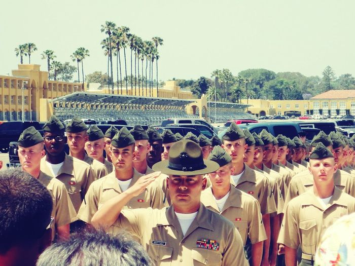 May 9th 2014 MCRD San Diego, California Marines U.S. Marines Made it through, forever changed.