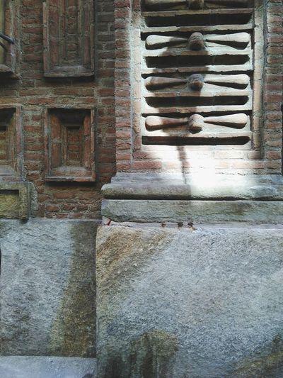 Bricks masterisation Torino Brick Wall Palazzo Carignano Architecture