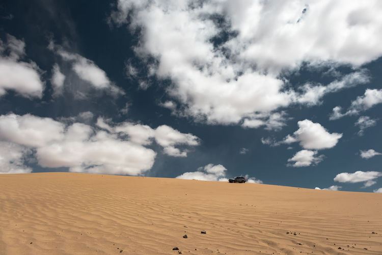 Mongolia Sand Cloud - Sky Sky Desert Land Scenics - Nature Landscape Sand Dune Environment Climate Arid Climate Beauty In Nature Tranquil Scene Tranquility Nature Non-urban Scene Day No People Remote Horizon Over Land Outdoors Atmospheric